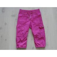 H&M L.O.G.G. broek capri roze maat 134