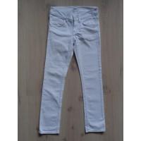 H&M spijkerbroek wit maat 134