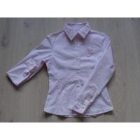 Vingino blouse lichtroze bloem VG maat 140