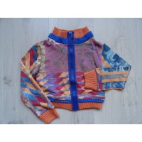 Save the Queen vest multicolor maat 110