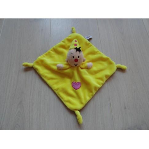 Bumba knuffeldoek velours geel