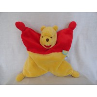 Nicotoy knuffeldoek Winnie de Poeh 25 x 25 cm
