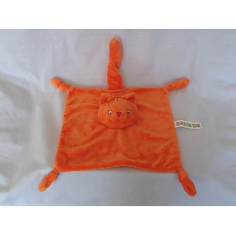 Happy Horse knuffeldoek Dikkie Dik velours 24 x 24 cm
