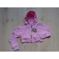 GS Dept vest bolero roze maat 140