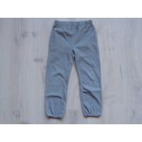 H&M broek fleece grijs maat 122