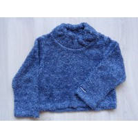 Cakewalk trui teddy blauw maat 116