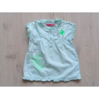 Name it blouse mintgroen vlinders maat 104 - 110