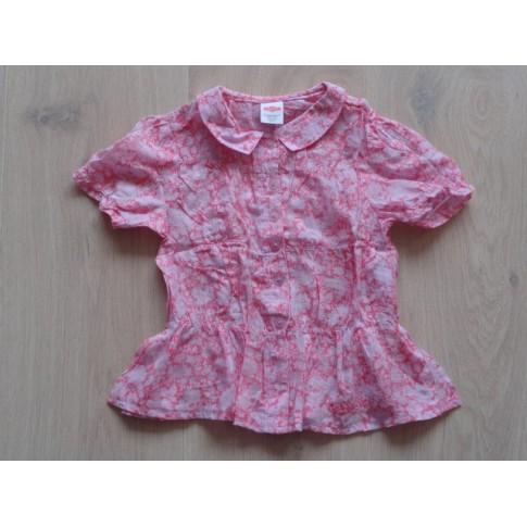 Cakewalk blouse roze elastische taille maat 104