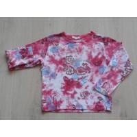 Exit longsleeve roze batik look bloemen maat 116