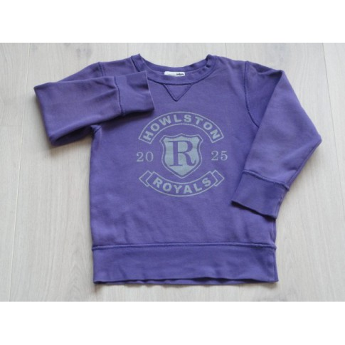 H&M sweater paars Howlston Royals maat 110 - 116