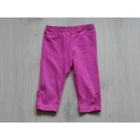 Baby Blue legging fuchsia roze roezels maat 74