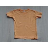 T-shirt oranje basic maat 92