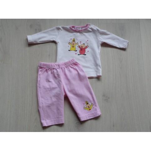 Bumba Bumbalu pyjama roze maat 50 - 56