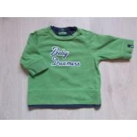 H&M LOGG groen/ blauwe longsleeve mt. 62