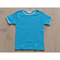 V&D T-shirt turquoise maat 104 - 110