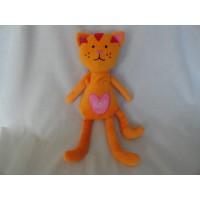 Lief! Lifestyle knuffel poes oranje 38 cm