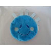 DA knuffeldoekje labeldoekje Daatje knisper blauw 16 cm