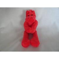 Hema knuffel paard Briez rood 24 cm