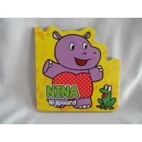 Boekje Nina Nijlpaard karton Yoyo books
