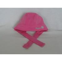Noppies bandana mutsje roze zomer