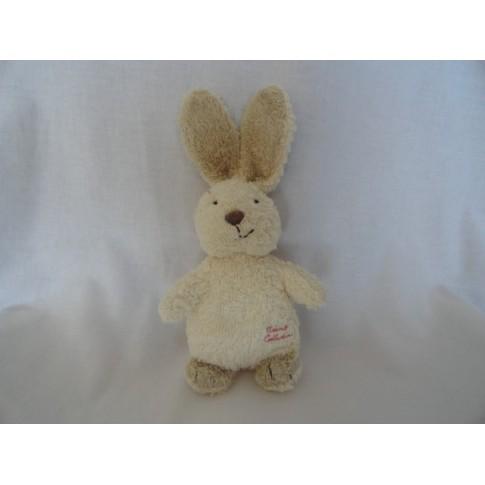 Tiamo konijn taupe beige badstof 21 cm