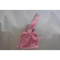 Pietiesoriginals tuttelpopje badstof roze 18 cm