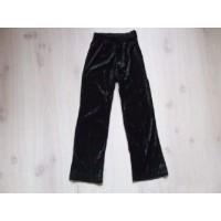 Zwarte velours broek mt. 116