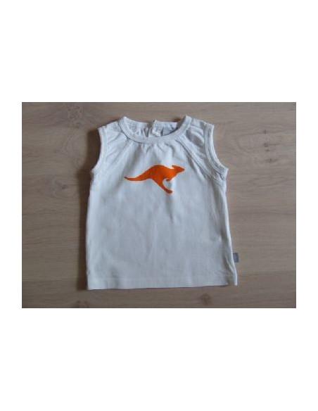 KangaROOS singlets oranje wit mt 68-74