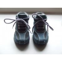 Space blauw/ grijze schoentjes mt 21