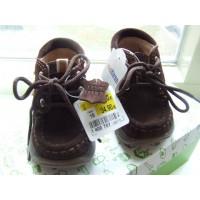 Bobbi Shoes bruine leren schoentjes mt 19