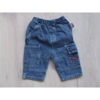 Baby Blu blauwe jeansbroek mt 68