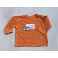 """Oranje longsleeve """"motor"""" mt 68"""